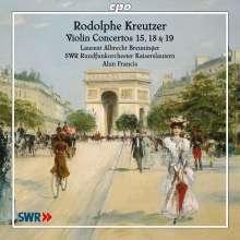 Rodolphe Kreutzer (1766-1831): Violinkonzerte Nr.15,18,19, CD