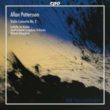 Allan Pettersson (1911-1980): Violinkonzert Nr.2 (2.Fassung), CD