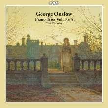 Georges Onslow (1784-1852): Klaviertrios Vol.3 & 4, 2 CDs