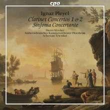 Ignaz Pleyel (1757-1831): Klarinettenkonzerte Nr.1 & 2, CD