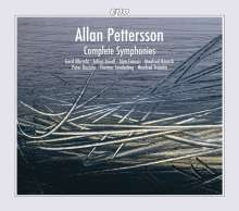 Allan Pettersson (1911-1980): Sämtliche Symphonien, 12 CDs