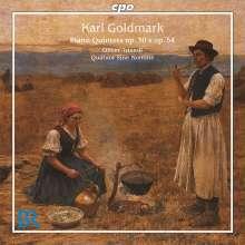 Karl Goldmark (1830-1915): Klavierquintette opp.30 & 54, CD