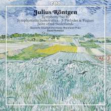 "Julius Röntgen (1855-1932): Symphonie Nr.10 in D ""Walzersymphonie"", CD"