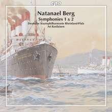 Natanael Berg (1879-1957): Symphonien Nr.1 & 2, CD