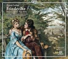 Franz Lehar (1870-1948): Friederike (Singspiel in 3 Akten), 2 CDs