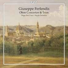 Giuseppe Ferlendis (1755-1802): Oboenkonzerte Nr.1-3, CD