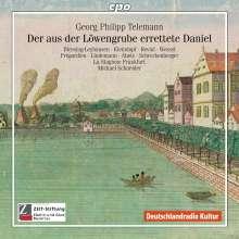 Georg Philipp Telemann (1681-1767): Der aus der Löwengrube errettete Daniel TWV deest, CD