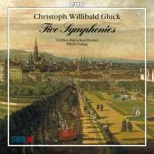 Christoph Willibald Gluck (1714-1787): Symphonien, CD