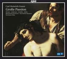 """Carl Heinrich Graun (1703-1759): Große Passion """"Kommt her und schaut"""" (Graun WV B:VII:5), 2 CDs"""