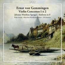 Ernst von Gemmingen (1759-1813): Violinkonzerte Nr.1 & 2 (A-Dur & C-Dur), CD