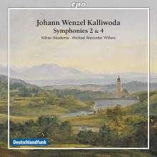 Johann Baptist Wenzel Kalliwoda (1801-1866): Symphonien Nr.2 & 4, CD