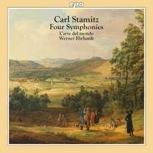 Carl Stamitz (1745-1801): Vier Symphonien, CD