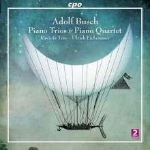 Adolf Busch (1891-1952): Klaviertrios Nr.1 & 2 (C-Dur op.15 / c-moll op.48), 2 CDs
