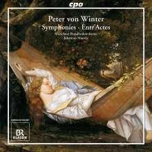"""Peter von Winter (1754-1825): Symphonie Nr.1 """"Sinfonie a grand Orchestre"""", CD"""