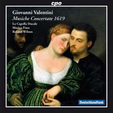 Giovanni Valentini (1582-1649): Musiche concertate (1619), CD