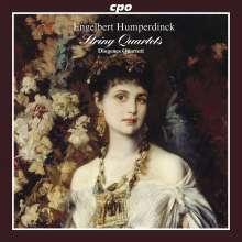 Engelbert Humperdinck (1854-1921): Streichquartett C-Dur, CD