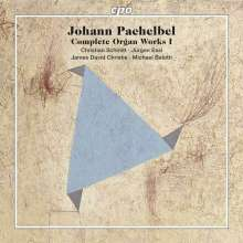 Johann Pachelbel (1653-1706): Sämtliche Orgelwerke Vol.1, 5 Super Audio CDs