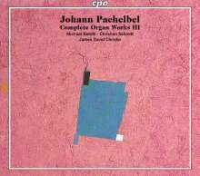 Johann Pachelbel (1653-1706): Sämtliche Orgelwerke Vol.3, 3 Super Audio CDs