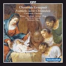 Christoph Graupner (1683-1760): Weihnachtskantaten, CD