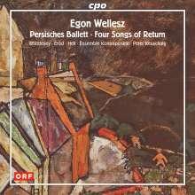 Egon Wellesz (1885-1974): Werke für Kammerorchester, CD