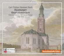 Carl Philipp Emanuel Bach (1714-1788): Hamburger Quartalsmusiken, 2 CDs
