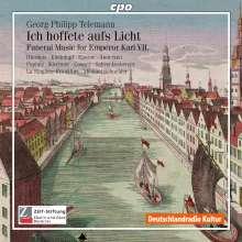 """Georg Philipp Telemann (1681-1767): Trauermusik für Karl VII TWV4:13 """"Ich hoffete aufs Licht"""", CD"""