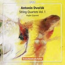 Antonin Dvorak (1841-1904): Streichquartette Vol.1, 2 CDs
