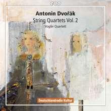 Antonin Dvorak (1841-1904): Streichquartette Vol.2, 2 CDs