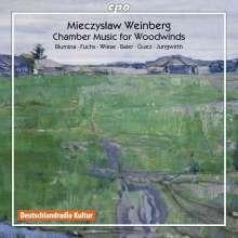 Mieczyslaw Weinberg (1919-1996): Kammermusik für Bläser, CD
