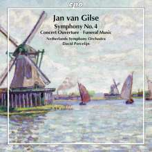 Jan van Gilse (1881-1944): Symphonie Nr.4, CD