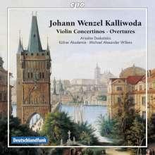 Johann Baptist Wenzel Kalliwoda (1801-1866): Violin-Concertini Nr.1 & 5 (opp.15 & 133), CD