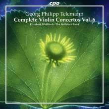 Georg Philipp Telemann (1681-1767): Sämtliche Violinkonzerte Vol.6, CD