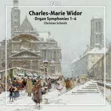 Charles-Marie Widor (1844-1937): Orgelsymphonien Vol.1, 2 Super Audio CDs