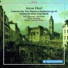 Anton Eberl (1765-1807): Konzert op.45 für 2 Klaviere & Orchester, CD