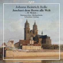 Johann Heinrich Rolle (1716-1785): Motetten, 2 CDs