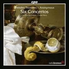 """6 Concerti aus der Sammlung """"Schranck II"""" der Sächsischen Landesbibliothek Dresden, CD"""
