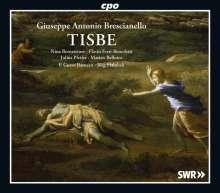Giuseppe Antonio Brescianello (1690-1758): Tisbe, 2 CDs