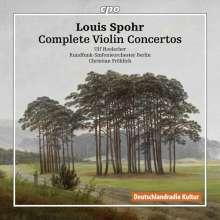 Louis Spohr (1784-1859): Sämtliche Violinkonzerte, 8 CDs