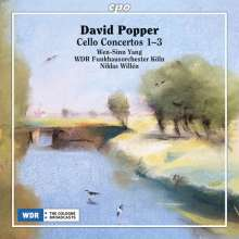 David Popper (1843-1913): Cellokonzerte Nr.1-3, CD