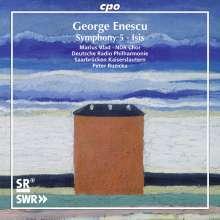 George Enescu (1881-1955): Symphonie Nr.5 für Tenor, Frauenchor & Orchester, CD