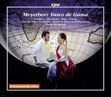"""Giacomo Meyerbeer (1791-1864): Vasco de Gama (Originalfassung von """"L'Africaine""""), 4 CDs"""