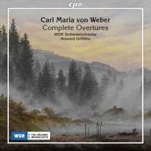 Carl Maria von Weber (1786-1826): Sämtliche Ouvertüren, CD