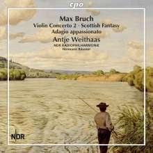 Max Bruch (1838-1920): Sämtliche Werke für Violine & Orchester Vol.1, CD