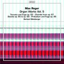 Max Reger (1873-1916): Orgelwerke Vol.5, 2 Super Audio CDs