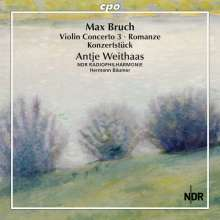 Max Bruch (1838-1920): Sämtliche Werke für Violine & Orchester Vol.3, CD
