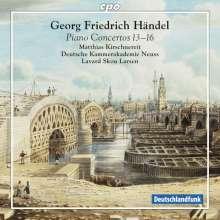 Georg Friedrich Händel (1685-1759): Klavierkonzerte Nr.13-16 (HWV 295,296,304,305a), Super Audio CD