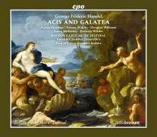 Georg Friedrich Händel (1685-1759): Acis und Galatea (1718), 2 CDs