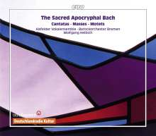Johann Sebastian Bach (1685-1750): Die apokryphen Werke, 8 CDs