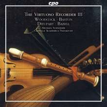 Michael Schneider - The Virtuoso Recorder Vol.3 (Concertos of the English Baroque), CD
