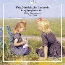 Felix Mendelssohn Bartholdy (1809-1847): Streichersymphonien Vol.1, CD
